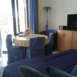 Wohnzimmer oberes Apartment