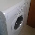 Waschmaschine im Bad oberes Apartment