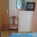 Schlafzimmer mit Doppelbett oberes Apartment