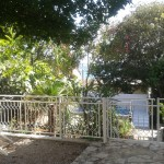 Außenbereich Grundstück