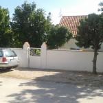Parkplatz vor dem Grundstück